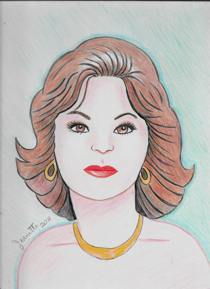 Shelley Long by Jeanette